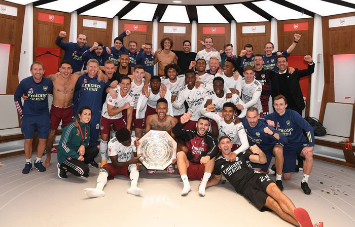 Arsenal Juara Piala Community Shield 2020