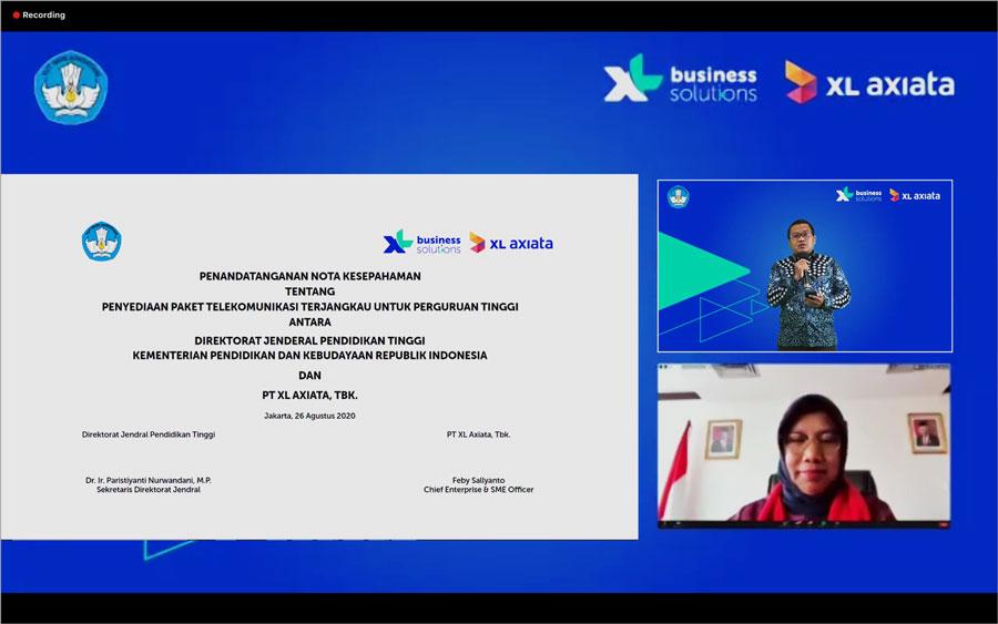 XL Axiata dan Ditjen Dikti Hadirkan Paket Data Murah untuk Mahasiswa