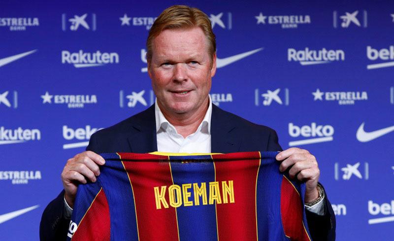 5 Fakta Ronald Koeman sebagai Pelatih Baru Barcelona