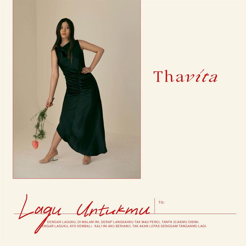 Artwork Single Thavita, Lagu Untukmu