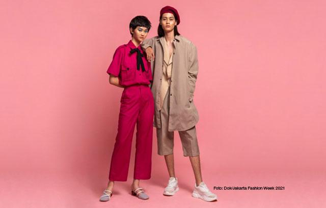 Rizal Rama dan Maria Karina sebagai JFW 2021 Icons