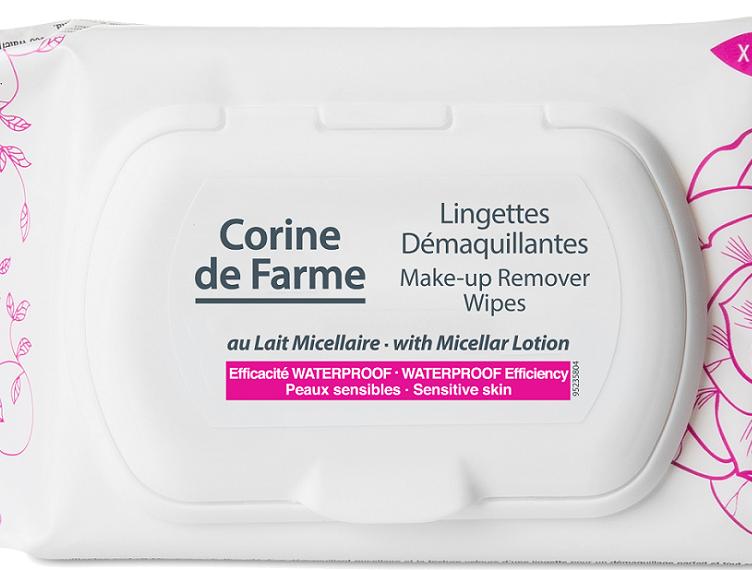 Make Up Remover Wipes Corine de Farme