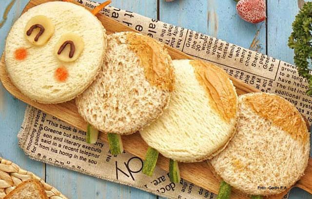 Awal Sebutan Sandwich. 1