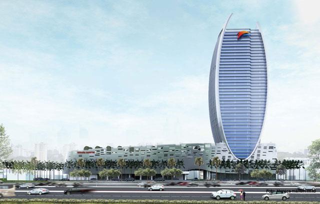 Progres Pembangunan Maritime Tower Mencapai 50,67 Persen